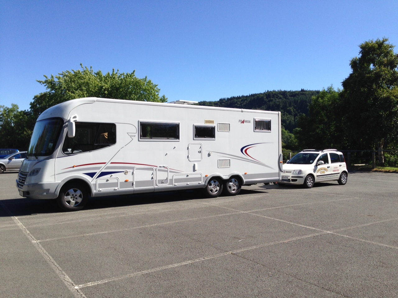 New Motorhome Hire Ulcombe  Fiat Roller Team 694 Automatic